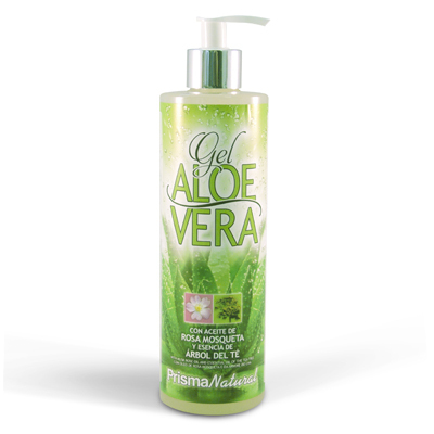 PRISMA NATURAL GEL DE ALOE VERA ROSA MOSQUETA 500 ML